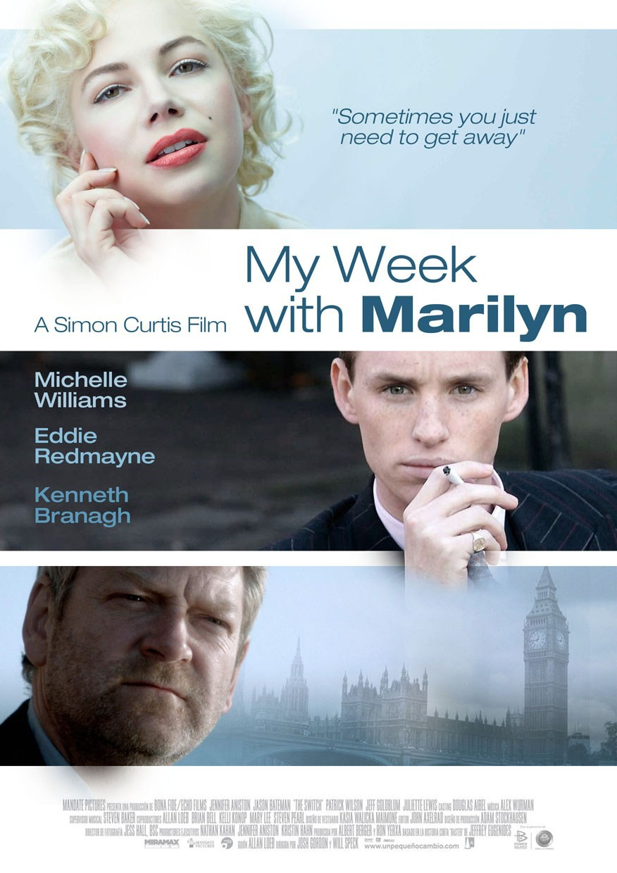 Michelle Williams My Week with Marilyn Movie